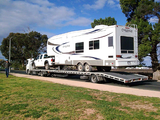 Caravans Towing